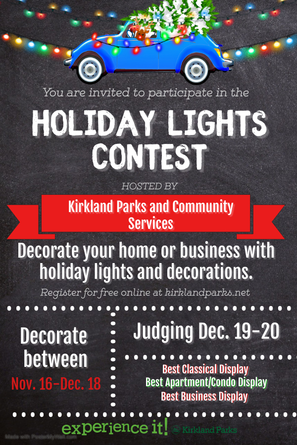 Holiday Lights Contest Flyer2020